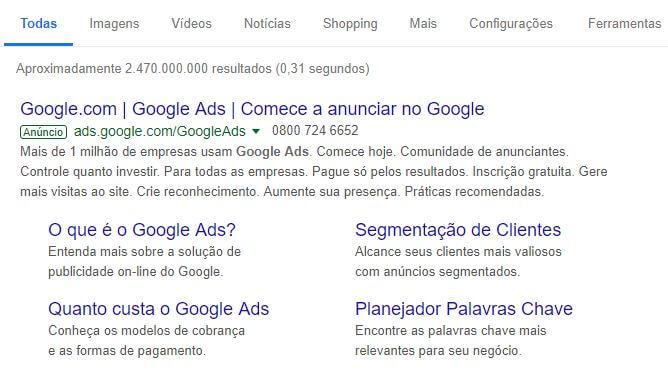 Mesmo se as redes sociais chegassem ao fim, os anúncios do Google fariam seu negócio continuar vendendo.