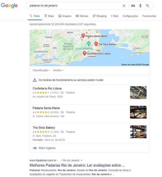 Se cadastrar no Google meu Negócio é uma ótima maneira gratuita de garantir presença digital.